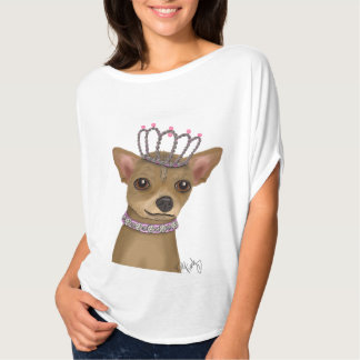 Chihuahua And Tiara T-Shirt