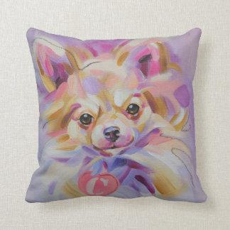 Chihuahua Art Pillow
