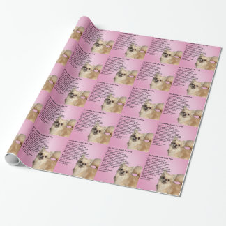 Chihuahua  Auntie Poem Wrapping Paper