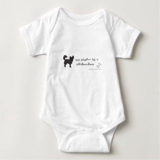 chihuahua baby bodysuit