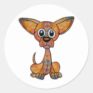 Chihuahua Batik Sticker