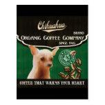 Chihuahua Brand – Organic Coffee Company Postcard
