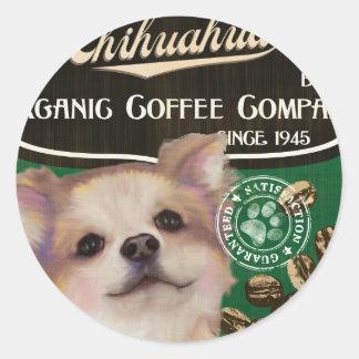 Chihuahua Brand – Organic Coffee Company Stickers