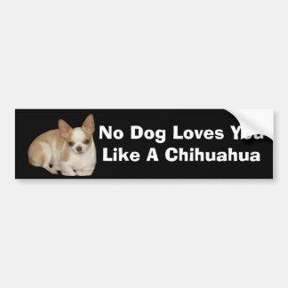 Chihuahua Bumper Sticker Car Bumper Sticker