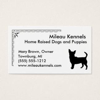 Chihuahua Business Card