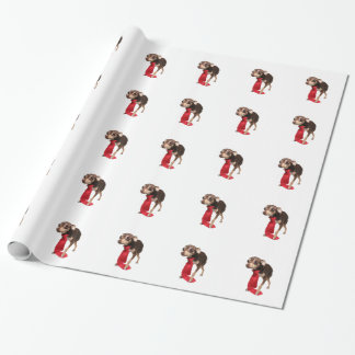 Chihuahua businessman wrapping paper