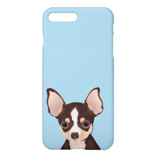 Chihuahua cartoon iPhone 7 plus case