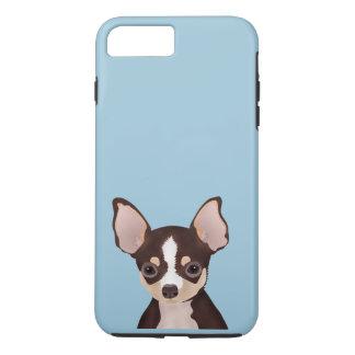 Chihuahua cartoon iPhone 7 plus case