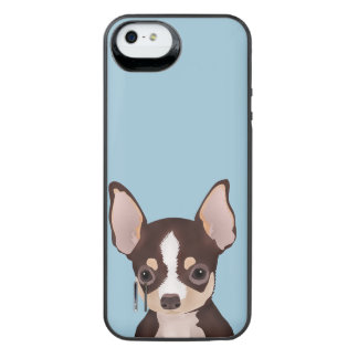 Chihuahua cartoon iPhone SE/5/5s battery case
