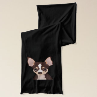 Chihuahua cartoon scarf
