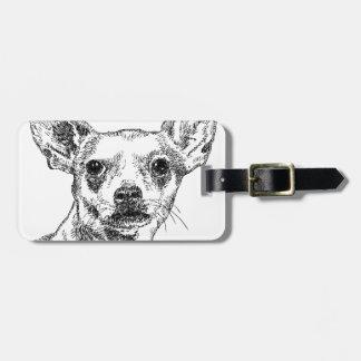 Chihuahua-Chiwawa Dogs Luggage Tag