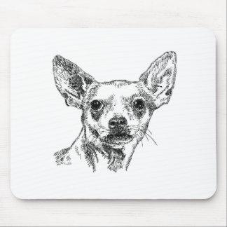 Chihuahua-Chiwawa Dogs Mouse Mat
