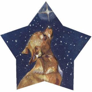 chihuahua christmas pin photo sculpture badge