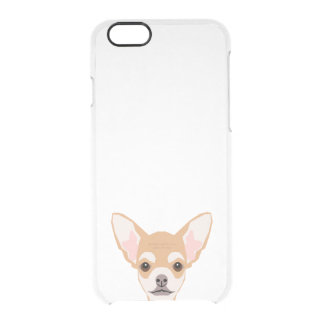 Chihuahua clear phone case - dog phone case