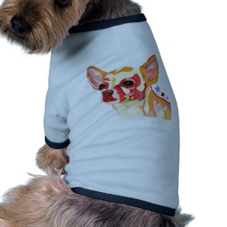Chihuahua Colorful Abstract Doggie Tee