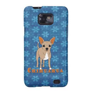 Chihuahua Cute Brown Dog Galaxy S2 Cover