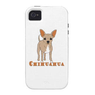 Chihuahua Cute Brown Dog Vibe iPhone 4 Cover