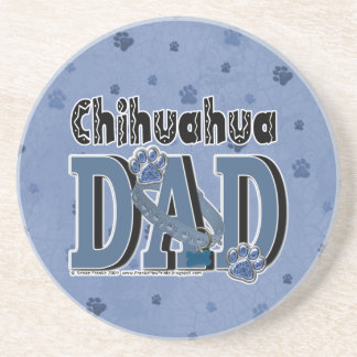 Chihuahua DAD Beverage Coaster