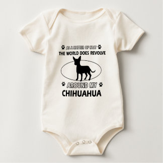 Chihuahua design rompers
