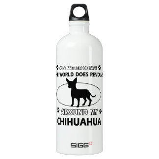 Chihuahua design SIGG traveller 1.0L water bottle