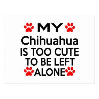 Chihuahua Designs Postcard