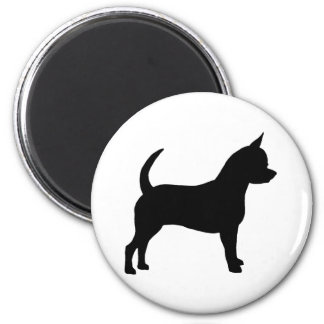 Chihuahua Dog 6 Cm Round Magnet