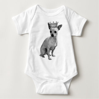 CHIHUAHUA Dog CROWN Baby Bodysuit