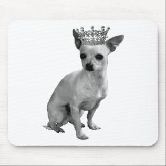 CHIHUAHUA Dog CROWN Mouse Pad