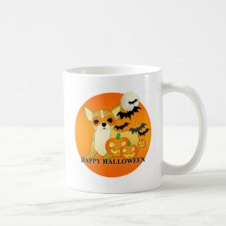 Chihuahua Dog Halloween Coffee Mug