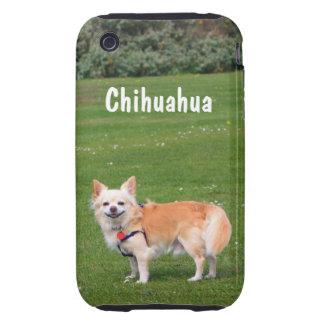 Chihuahua dog long-haired beautiful photo custom tough iPhone 3 cover