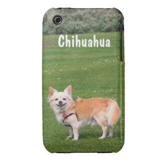 Chihuahua dog long-haired beautiful photo custom iPhone 3 cases