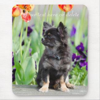 Chihuahua dog lovers beautiful custom mousepad