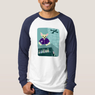 Chihuahua Dog Martini Bar Shirt