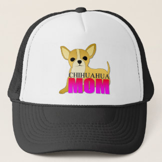 Chihuahua Dog Mom Trucker Hat