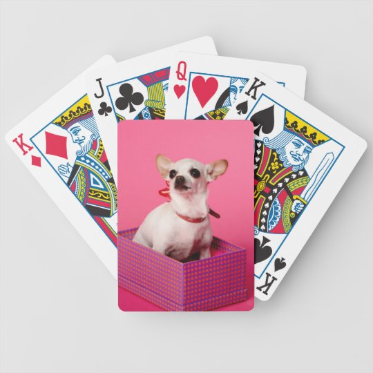 Chihuahua Dog Playing Cards