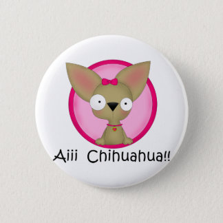 Chihuahua Dog Puppy 6 Cm Round Badge