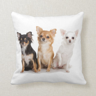 CHIHUAHUA DOG PUPPY THROW CUSHION