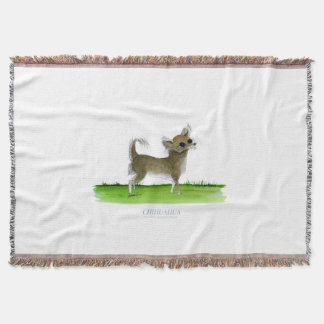 chihuahua dog, tony fernandes throw blanket