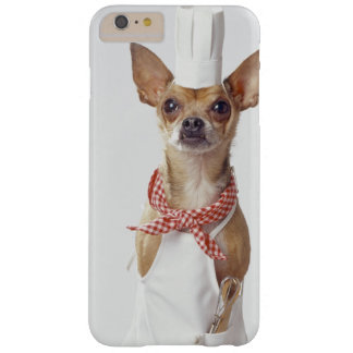 Chihuahua dog wearing chef's whites, studio shot barely there iPhone 6 plus case