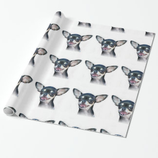 chihuahua dog wrapping paper