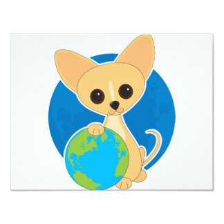 Chihuahua Earth Day Card