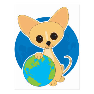 Chihuahua Earth Day Postcard