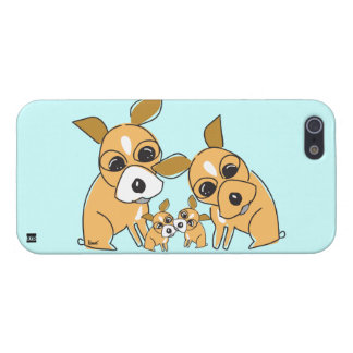 Chihuahua Family Dog iPhone 5 Case