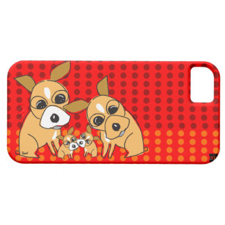 Chihuahua Family iPhone 5 Case-Mate Case iPhone 5 Cases
