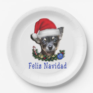 Chihuahua gifts paper plate