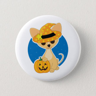 Chihuahua Halloween 6 Cm Round Badge