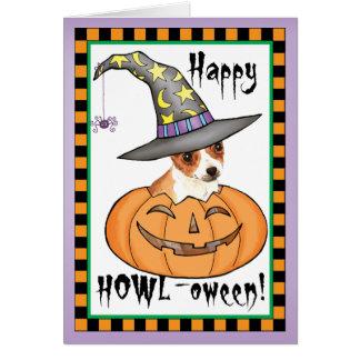 Chihuahua Halloween Card