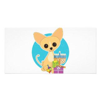 Chihuahua Hanukkah Photo Cards