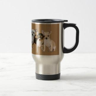Chihuahua Happy Trio Travel Mug