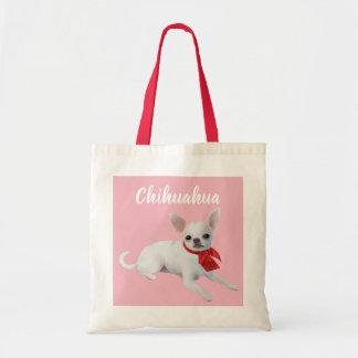 Chihuahua Illustrated Tote Bag